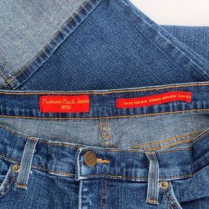 NYDJ Jeans - NYDJ Tummy Tuck Jeans Cuffed & Cropped Size 10